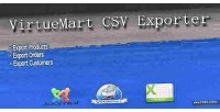 Extention virtuemart csv exporter