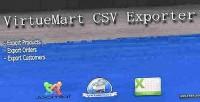 Extention virtuemart csv exporter