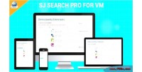 Pro search for responsive virtuemart module search ajax