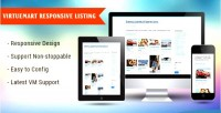 Product responsive module virtuemart for