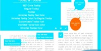 360 circle tooltip regular toolbar & tooltip