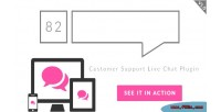82 live chat customer plugin wordpress support