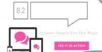 82 live chat customer plugin wordpress support