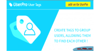 Add tags userpro for on