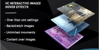 Add vc on effects interactive hover images