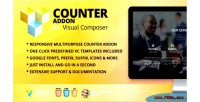 Addon counter composer visual for