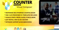 Addon counter composer visual for
