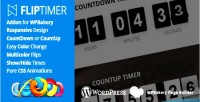 Addon fliptimer for builder page wpbakery