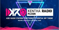 Addon kentharadio for kentha music wordpress to theme add radio sche & station