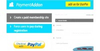 Addon payment for userpro