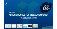 Addons essential bundle composer visual for
