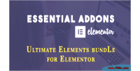 Addons essential for elementor
