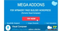 Addons mega for wpbakery builder page formerly composer visual