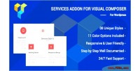 Addons services for builder visual page composer