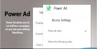 Adpress powerad addon