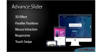 Advance layer slider extension