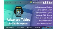 Advanced tablenator tables composer visual for