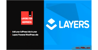 Advertising layers adpress for widget