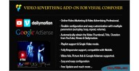 Advertising video addon composer visual for