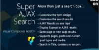 Ajax super search element