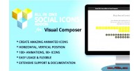 All in one social icons addon composer visual for