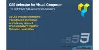 Animator css composer visual for