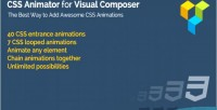 Animator css composer visual for