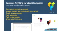 Anything carousel composer visual for