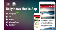 Application for wordpress blog news website app mobile wordpress application