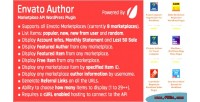 Author envato marketplace plugin wordpress api