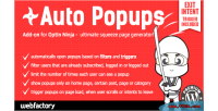 Auto popups add on ninja optin for