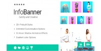 Banner info addon for wpbakery builder page formerly composer visual