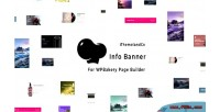Banner info for wpbakery builder page composer visual