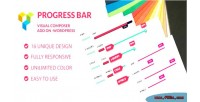 Bar progress add ons for page wpbakery builder composer visual