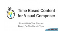 Based time content composer visual for