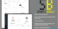 Bench sports wordpress plugin