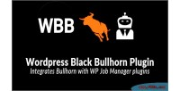 Black wp bullhorn
