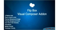 Box flip addon for page wpbakery builder composer visual