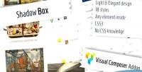 Box shadow composer visual for