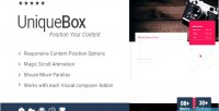 Box unique for all addon for page wpbakery builder formerly composer visual