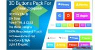 Buttons 3d pack extension composer visual