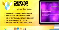 Canvas animated addon composer visual for