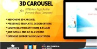 Carousel 3d addon for wpbakery builder page formerly composer visual