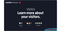 Chat live visitors extension