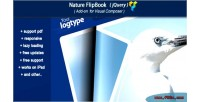 Composer visual add flipbook on jquery nature