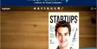 Composer visual add flipbook on jquery newspaper