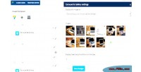Composer visual add gallery carousel on
