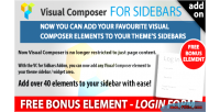 Composer visual addon sidebars in