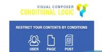 Composer visual conditional logic