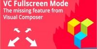 Composer visual fullscreen button